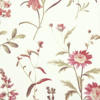Botanical Fabric - Coral