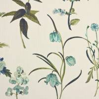 Botanical Fabric - Teal