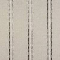 Bromley Stripe Fabric - Charcoal