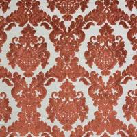 Tuscania Fabric - Burnt Orange