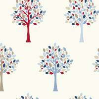 Orchard Fabric - Blue