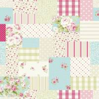 Vintage Patch Fabric - Candy