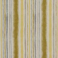 Garda Stripe Fabric - Ochre
