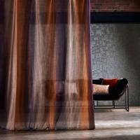 Stria Fabric - Stone/Amber/Plum