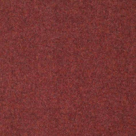 Abraham Moon & Sons Melton Wools  Earth Fabric - Raspberry - U1116/AF18