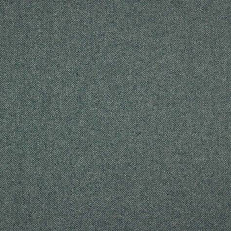 Abraham Moon & Sons Herringbone Wools  Chevron Fabric - Jade - U1298/AP28