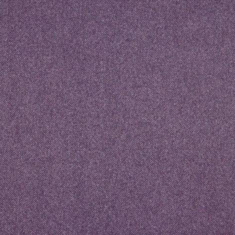 Abraham Moon & Sons Herringbone Wools  Chevron Fabric - Amethyst - U1298/BP36