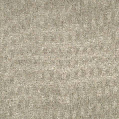 Abraham Moon & Sons Herringbone Wools  Deepdale Fabric - Natural - U1465/NE01