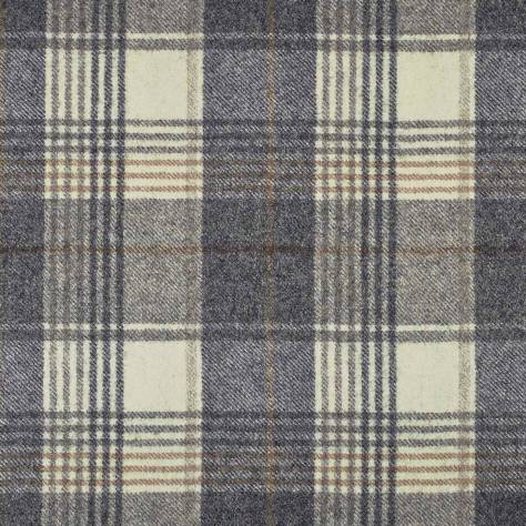 Abraham Moon & Sons Naturally Moon Fabrics Huntingtower Fabric - Charcoal - U1458/BR35 - Image 1