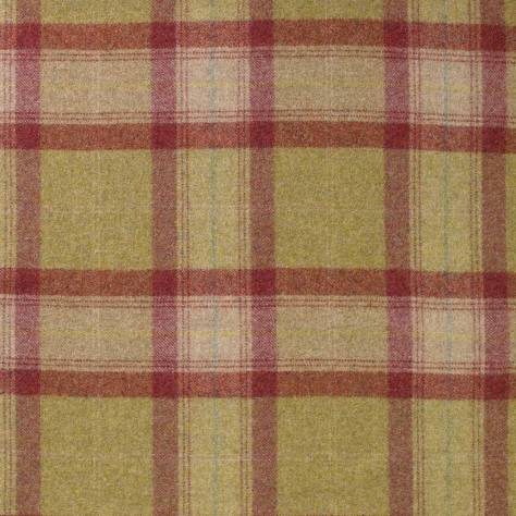 Abraham Moon & Sons The Dales Spring Collection Skye Fabric - Raspberry - U1104/DB50