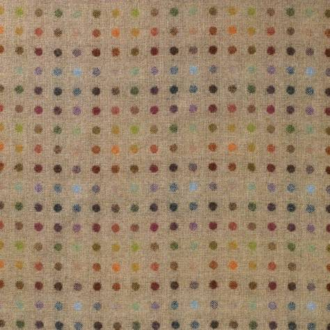 Abraham Moon & Sons The Dales Spring Collection Multispot Fabric - Natural - U1346/A01