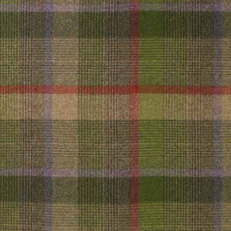 Abraham Moon & Sons The Dales Spring Collection Malham Fabric - Lime - U1365/K06