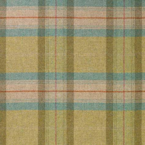 Abraham Moon & Sons The Dales Spring Collection Skye Fabric - Lime - U1367/DA48