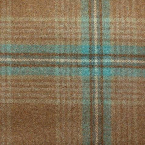 Abraham Moon & Sons The Dales Autumn Collection Ingleton Fabric - Aqua - U1350/B02