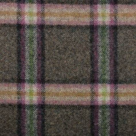 Abraham Moon & Sons The Dales Autumn Collection Settle Fabric - Vintage Brown - U1357/D23