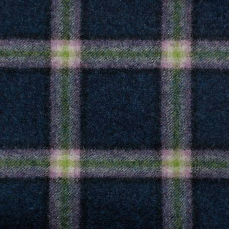 Abraham Moon & Sons The Dales Autumn Collection Settle Fabric - Blue - U1357/E04