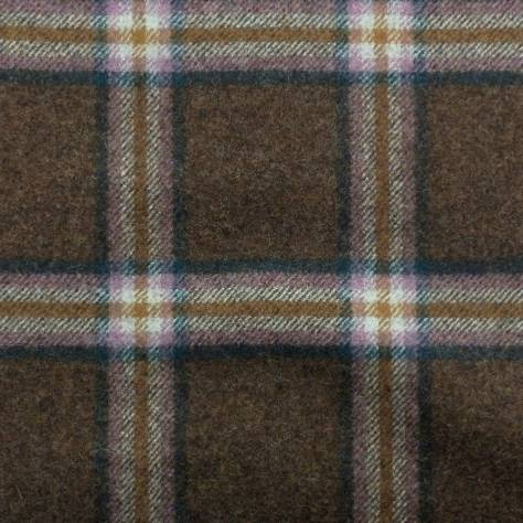 Abraham Moon & Sons The Dales Autumn Collection Settle Fabric - Brown - U1357/R10