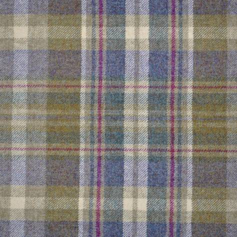 Abraham Moon & Sons Moorland III Fabrics Glen Coe Fabric - Heather/Olive - U1545/AX38