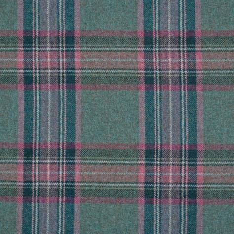 Abraham Moon & Sons Moorland III Fabrics Glen Derry Fabric - Teal - U1591/F05 - Image 1