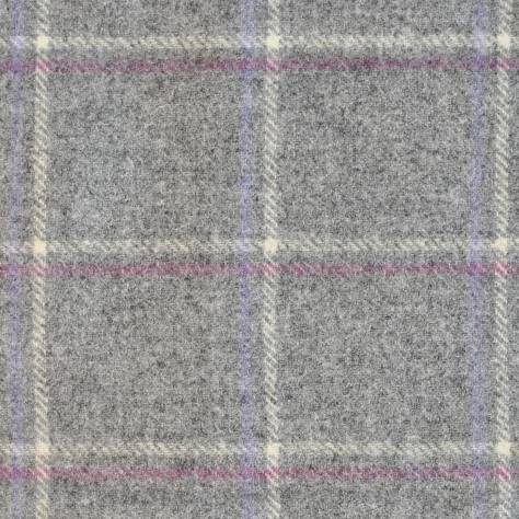 Abraham Moon & Sons Moorland III Fabrics Glen Lyon Fabric - Grey - U1714/A01