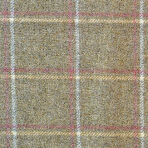 Abraham Moon & Sons Moorland III Fabrics Glen Lyon Fabric - Yellow - U1714/A02