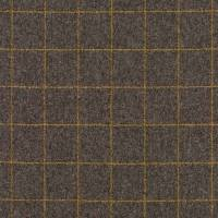 Kensington Fabric - Grey/Ochre