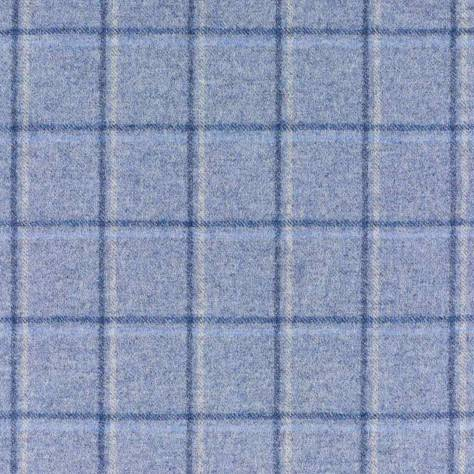 Abraham Moon & Sons Cosmopolitan Fabrics San Francisco Fabric - Silver/Denim - U1112/BN35