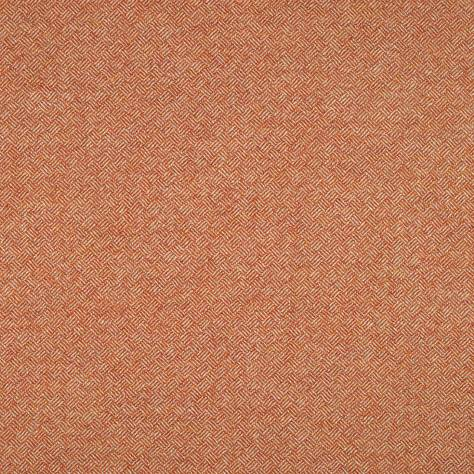 Abraham Moon & Sons Cosmopolitan Fabrics Parquet Fabric - Orange - U1228/AN4