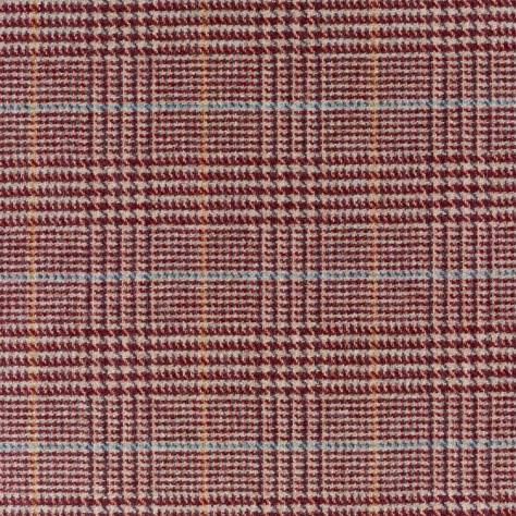 Abraham Moon & Sons Cosmopolitan Fabrics London Fabric - Merlot/Sage - U1518/AE17