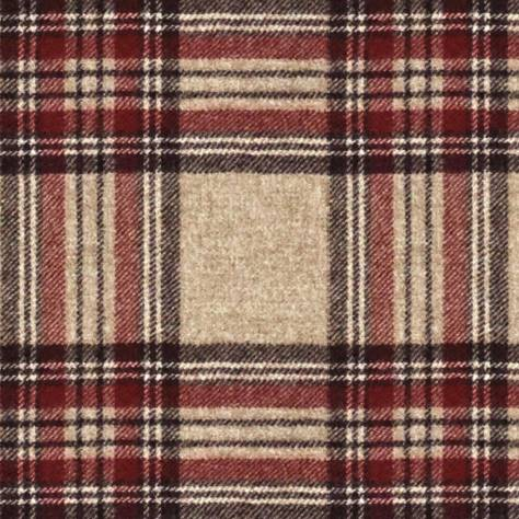 Abraham Moon & Sons National Trust Fabrics Killerton Fabric - Red - U1721/U11