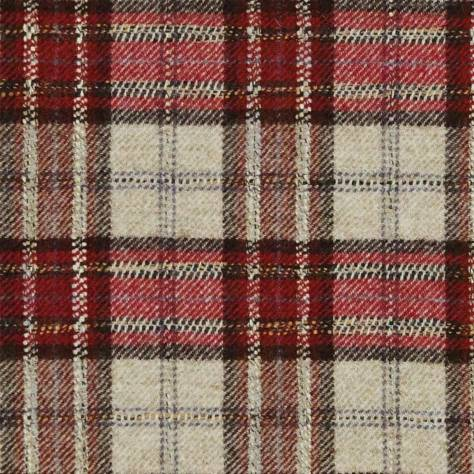 Abraham Moon & Sons National Trust Fabrics Montacute Fabric - Red - U1723/M07