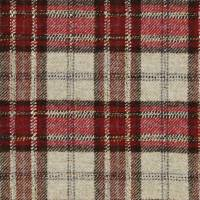 Montacute Fabric - Red