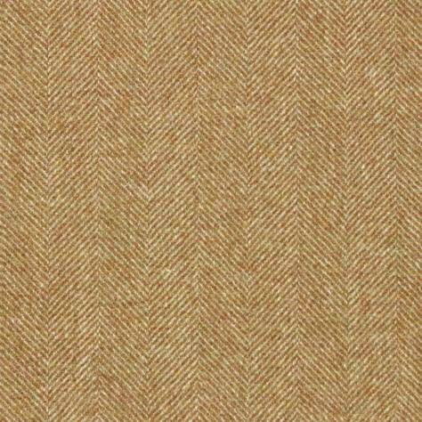 Abraham Moon & Sons National Trust Fabrics Little Moreton Hall Fabric - Gold - U1741/KD18