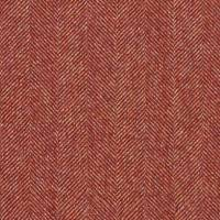 Little Moreton Hall Fabric - Red