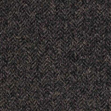 Abraham Moon & Sons The Curtain Collection Fabrics Herringbone Fabric - Mid Grey - U2002/02 - Image 1