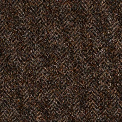 Abraham Moon & Sons The Curtain Collection Fabrics Herringbone Fabric - Country Brown - U2002/25