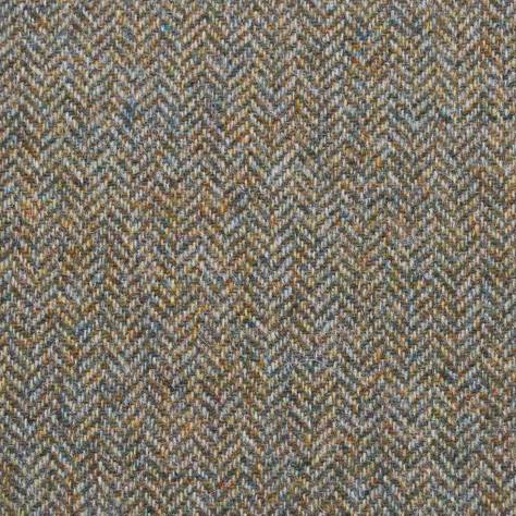 Abraham Moon & Sons The Curtain Collection Fabrics Herringbone Fabric - Moss - U2002/46