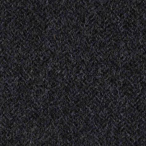 Abraham Moon & Sons The Curtain Collection Fabrics Herringbone Fabric - Denim - U2002/50