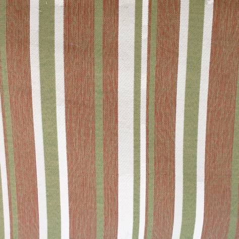 Bill Beaumont Jacobean Fabrics Lizzy Fabric - Terracotta - LIZZYTERRACOTTA