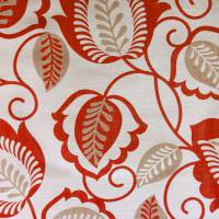Esme Fabric - Red