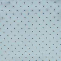 Dotty Fabric - Aqua