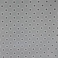 Dotty Fabric - Charcoal