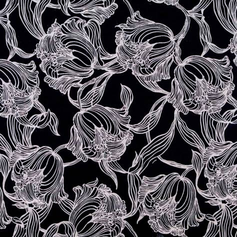 Bill Beaumont Boutique Fabrics Cecily Fabric - Charcoal - CECILYCHARCOAL - Image 1