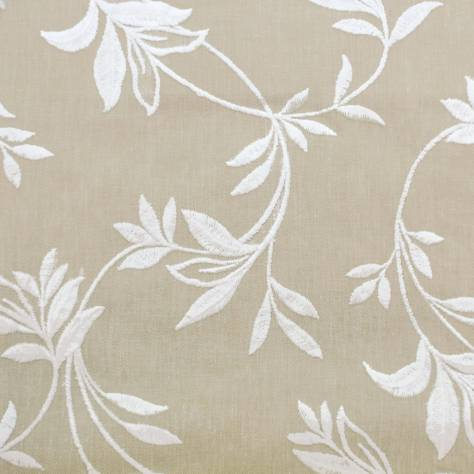 Bill Beaumont Homeward Fabrics Brodie Fabric - Cream - BRODIECREAM