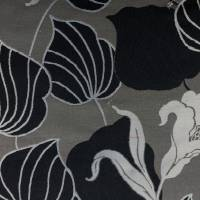 Lily Fabric - Charcoal