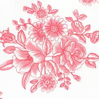 Pastorale Fabric - Pink