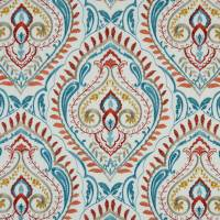 Arabesque Fabric - Burnt Orange