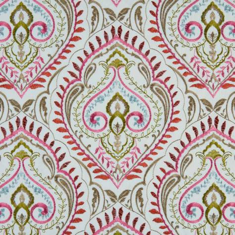 Bill Beaumont Marrakech Fabrics Arabesque Fabric - Rose - ARABESQUEROSE