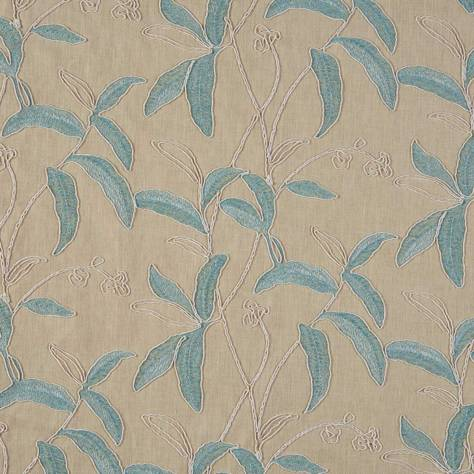 Bill Beaumont Marrakech Fabrics Menara Fabric - Aquamarine - MENARAAQUAMARINE