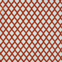 Mosaic Fabric - Burnt Orange